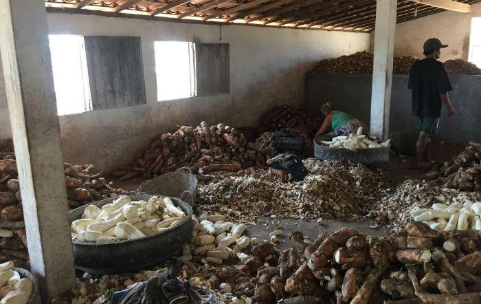 inspeções em casas de farinha localizadas em Lajedo e Jupi. Foto: Divulgação Polícia Rodoviária Federal