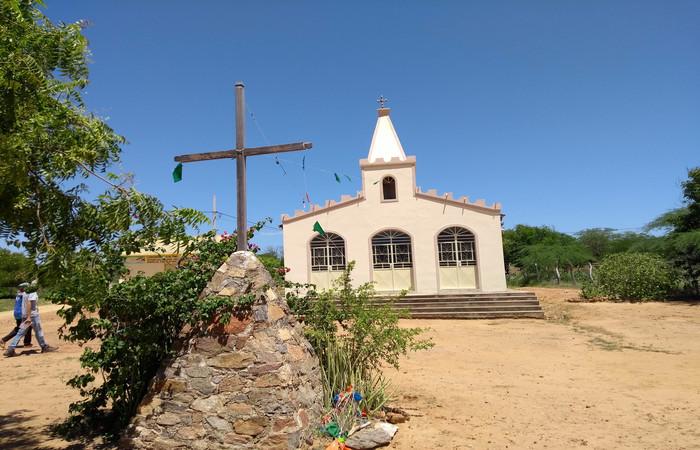O Sagrado Coração de Jesus é o padroeiro do Saco dos Henriques - Foto: Gilberto Ribeiro/Cortesia
