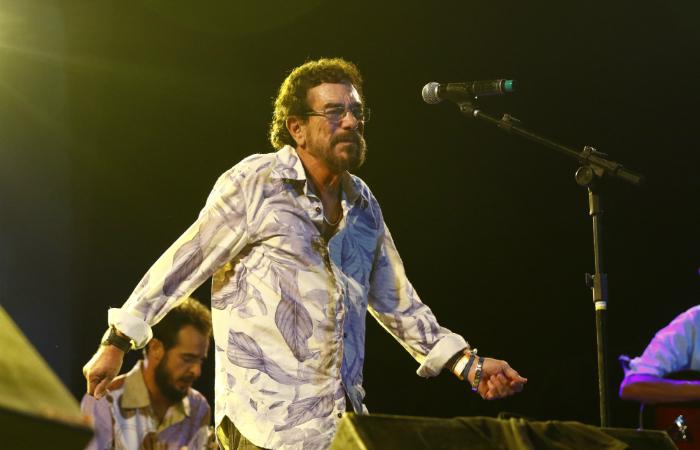 Marco Polo, vocalista do Ave Sangria. Foto: Marlon Diego/Divulgação