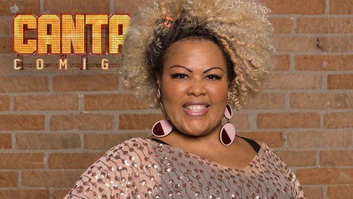 Em julho de 2018, Deise esteve entre os 100 jurados do Canta Comigo, da Record TV. Foto: Divulgação/Record TV