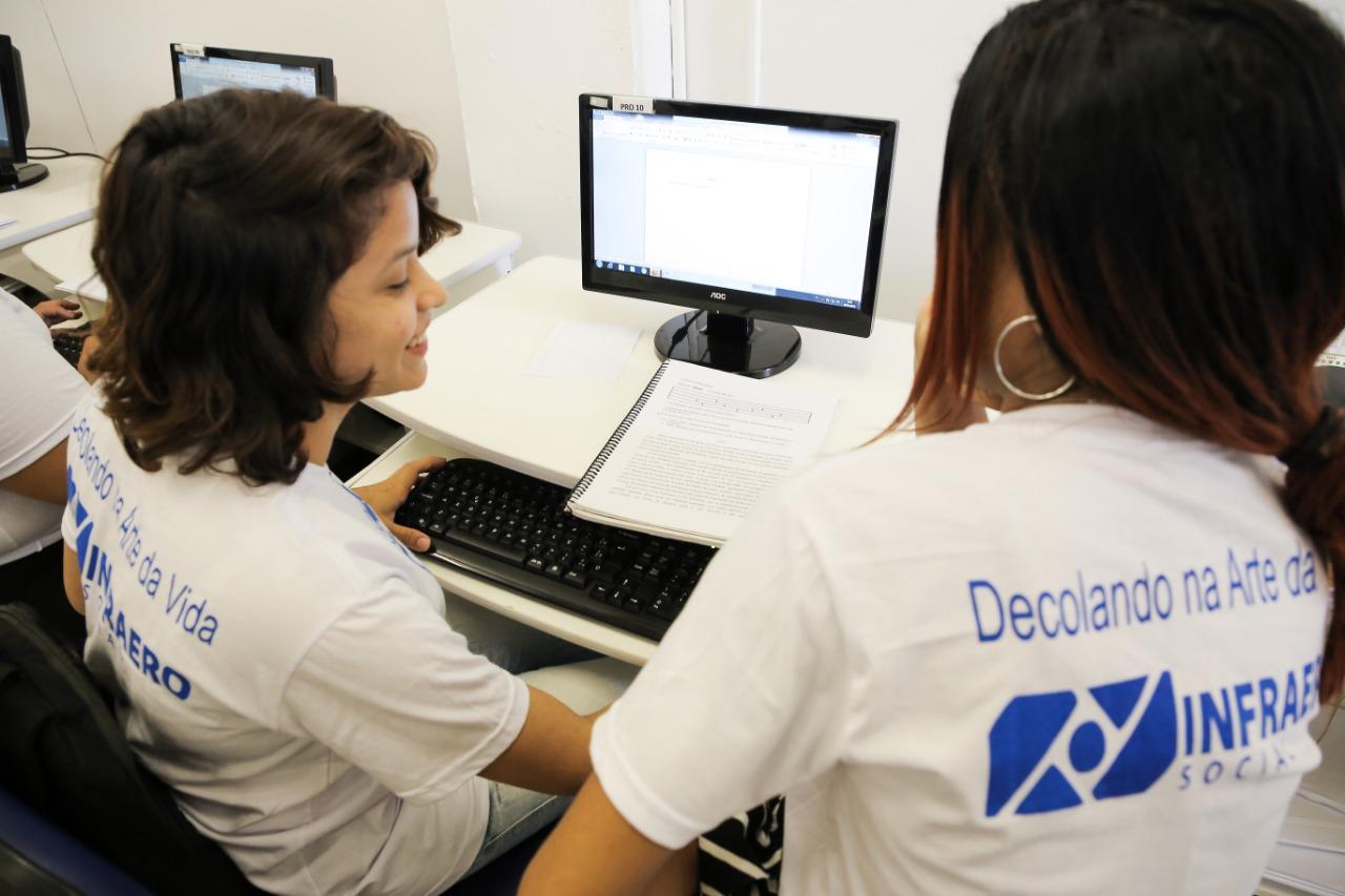 São 200 vagas para jovens de 15 a 20 anos. Foto: Pró-Criança/Divulgação.