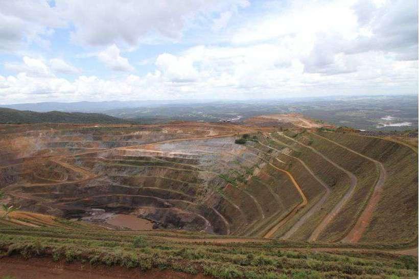 Rompimento de barragem em Brumadinho. Foto: Edesio Ferreira/Estado de Minas