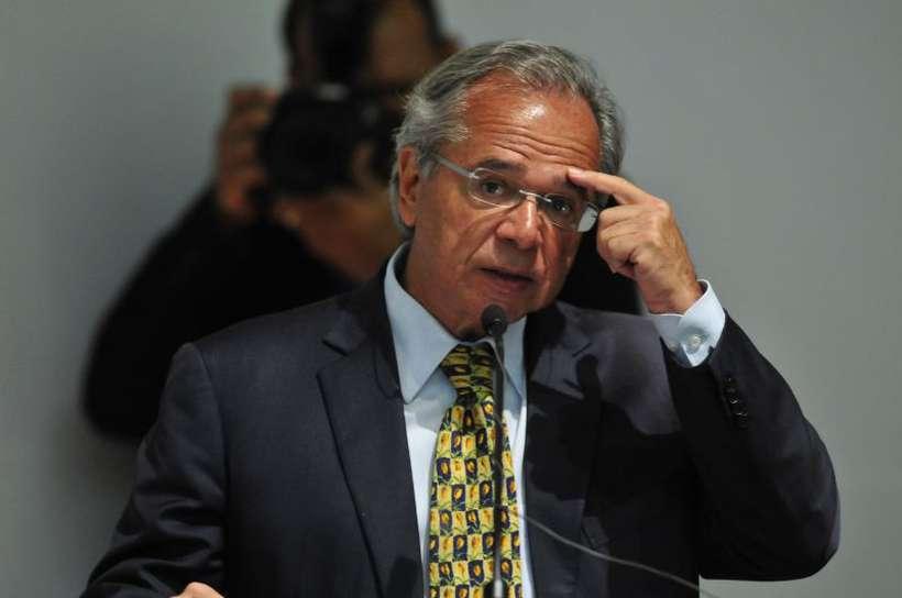 Em discursos sobre a eficiência do estado, Guedes citou que é preciso levar recursos para os municípios e pessoas que mais precisam. Foto: Minervino Junior/CB/D.A Press