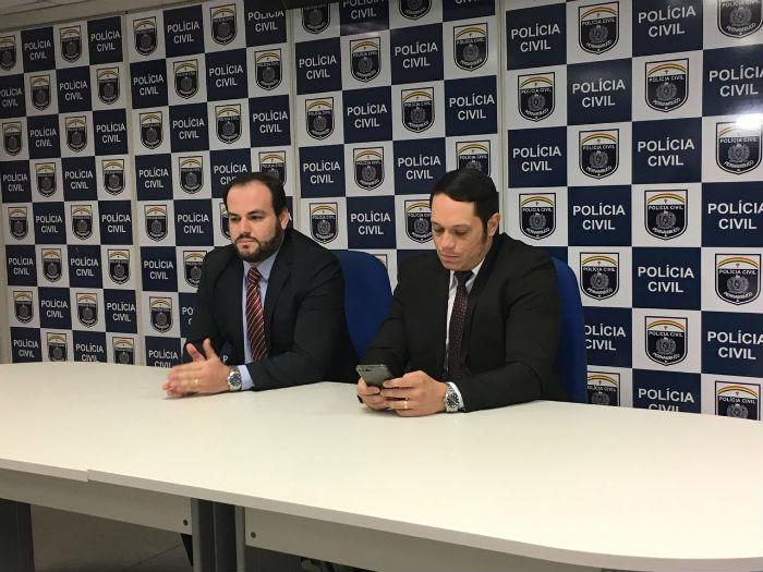 Polícia apresentou detalhes sobre o caso nesta quarta-feira (13). Foto: Anamaria Nascimento/DP.