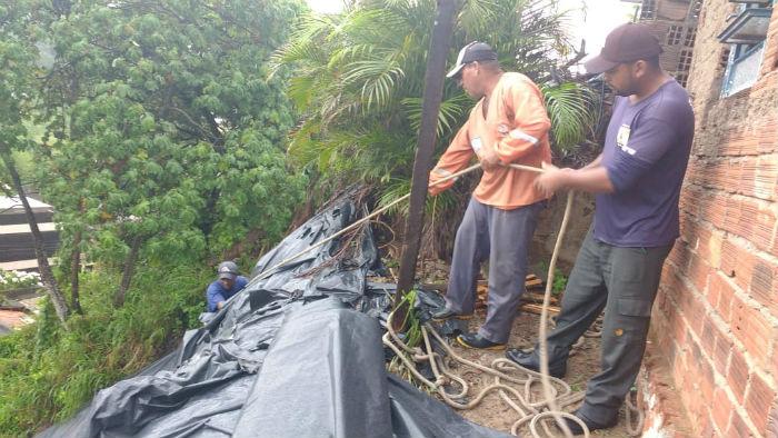 Cidade Tabajara registrou maior índice de chuvas. Foto: Prefeitura de Olinda / Divulgação