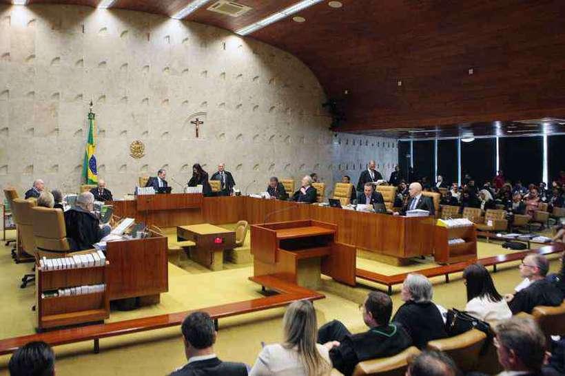 Advogados das partes envolvidas e o MPF fizeram as sustentações orais no plenário da Corte e, hoje, ministro lerão seus votos sobre o tema (foto: Rosinei Coutinho/SCO/STF )