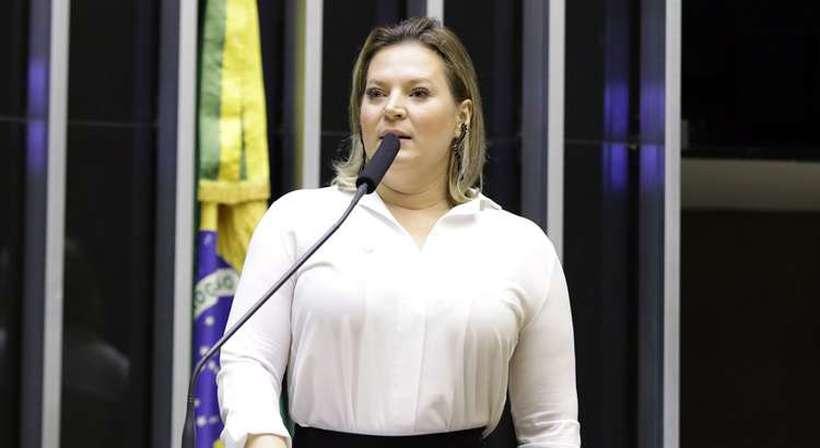 Na avaliação da deputada, os rumores de que irregularidades em candidaturas do PSL poderiam provocar a queda de Bebianno. Foto: Najara Araujo/Câmara dos Deputados
