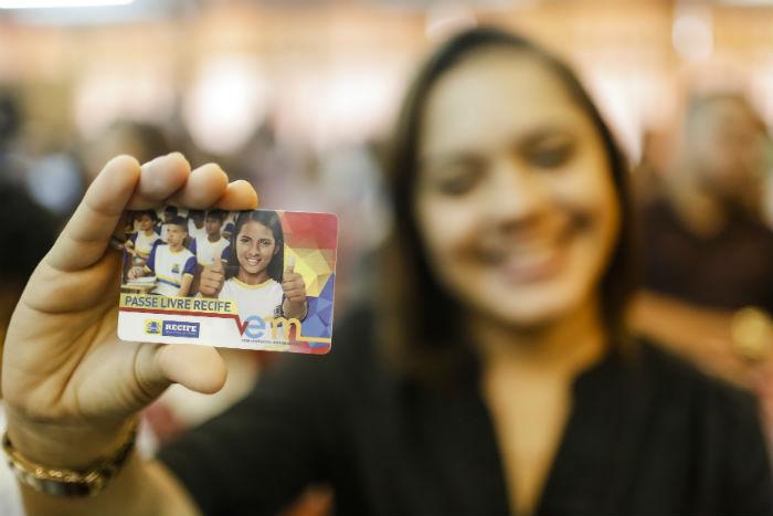 Alunos do Prouni Recife também têm direito ao Vem Passe Livre. Foto: Andréa Rêgo Barros/Divulgação.