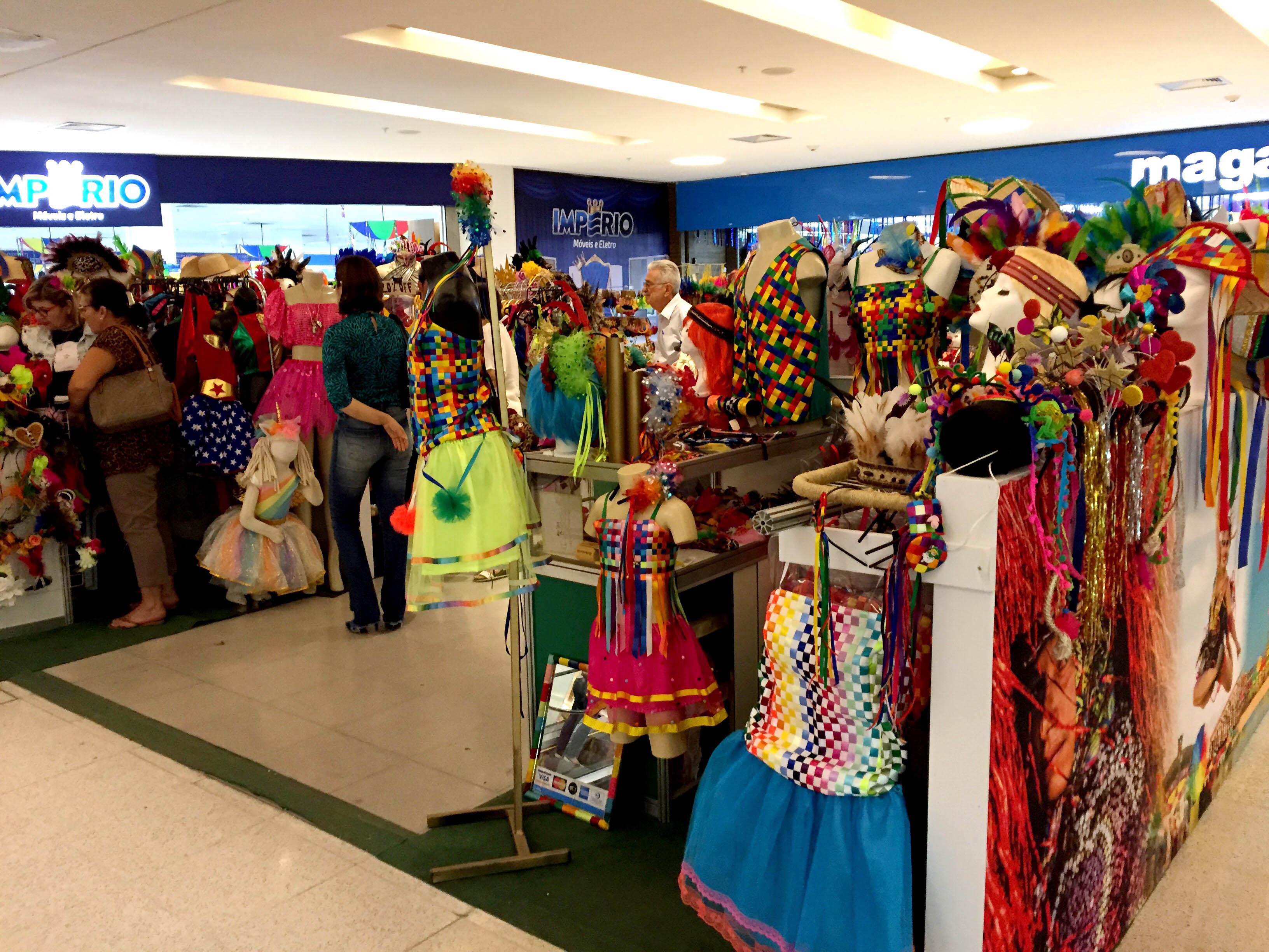 Shopping Recife promove feirinha com nove marcas até 2 de março. Credito: Eduardo Sena/Divulgação
