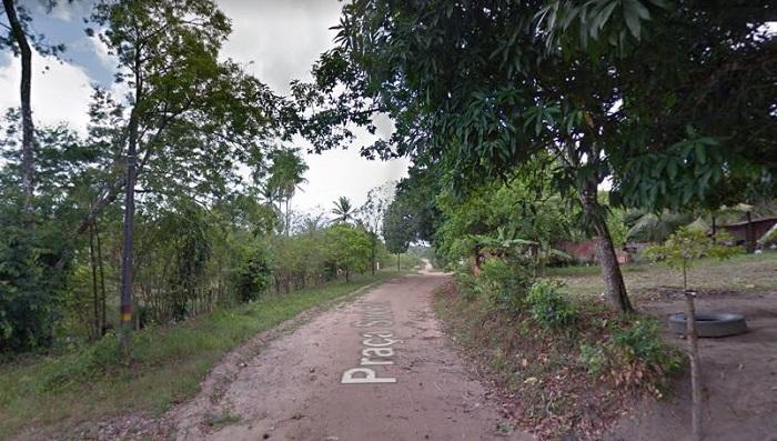 Crime aconteceu no bairro da Bela Vista, em Igarassu. Crédito: Google Street View