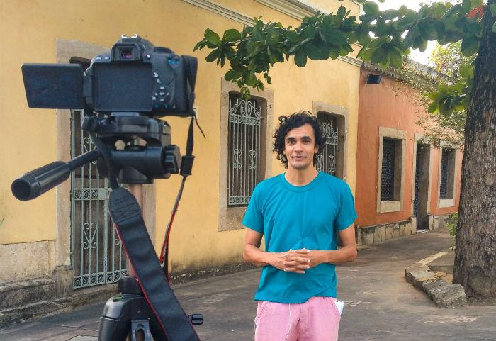 Otávio Bastos lança um programa por semana, com duração máxima de dez minutos. Foto: divulgação
