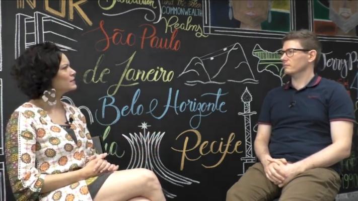 A atriz Hermila Guedes falou sobre o seu processo criativo. Foto: YouTube/Reprodução