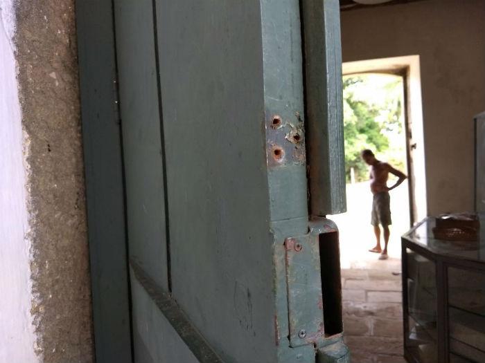 Crime ocorreu na madrugada do último domingo. Foto: WhatsApp/Divulgação