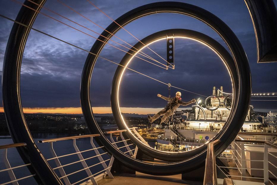 MSC Seaview é um dos maiores navios de cruzeiro a operar na costa brasileira. Foto: MSC Cruzeiros/Divulgação