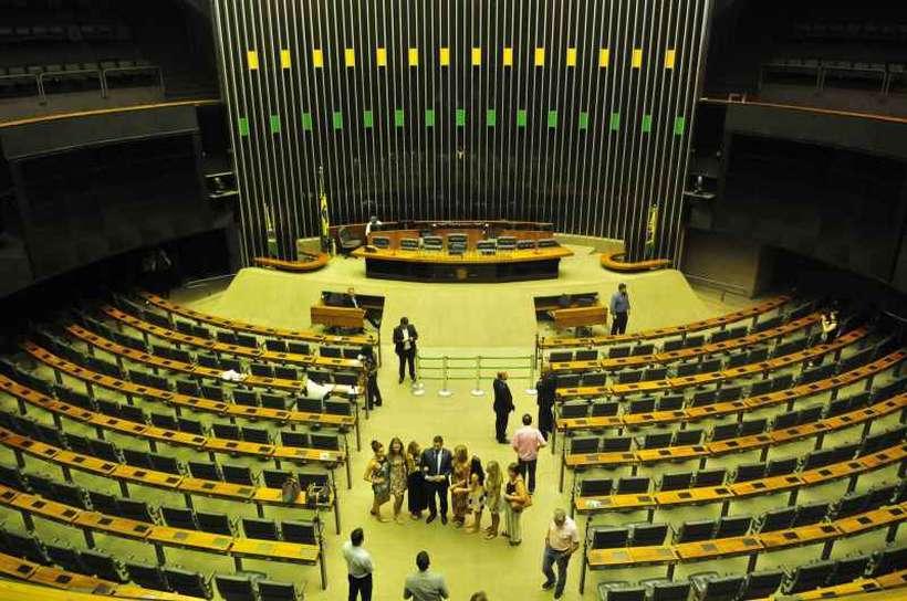 Segundo pesquisa do Diap, governo teria 333 parlamentares na Câmara, enquanto a oposição conta com 176 votos declarados contra o projeto previdenciário. Foto: Minervino Junior/CB/D.A Press