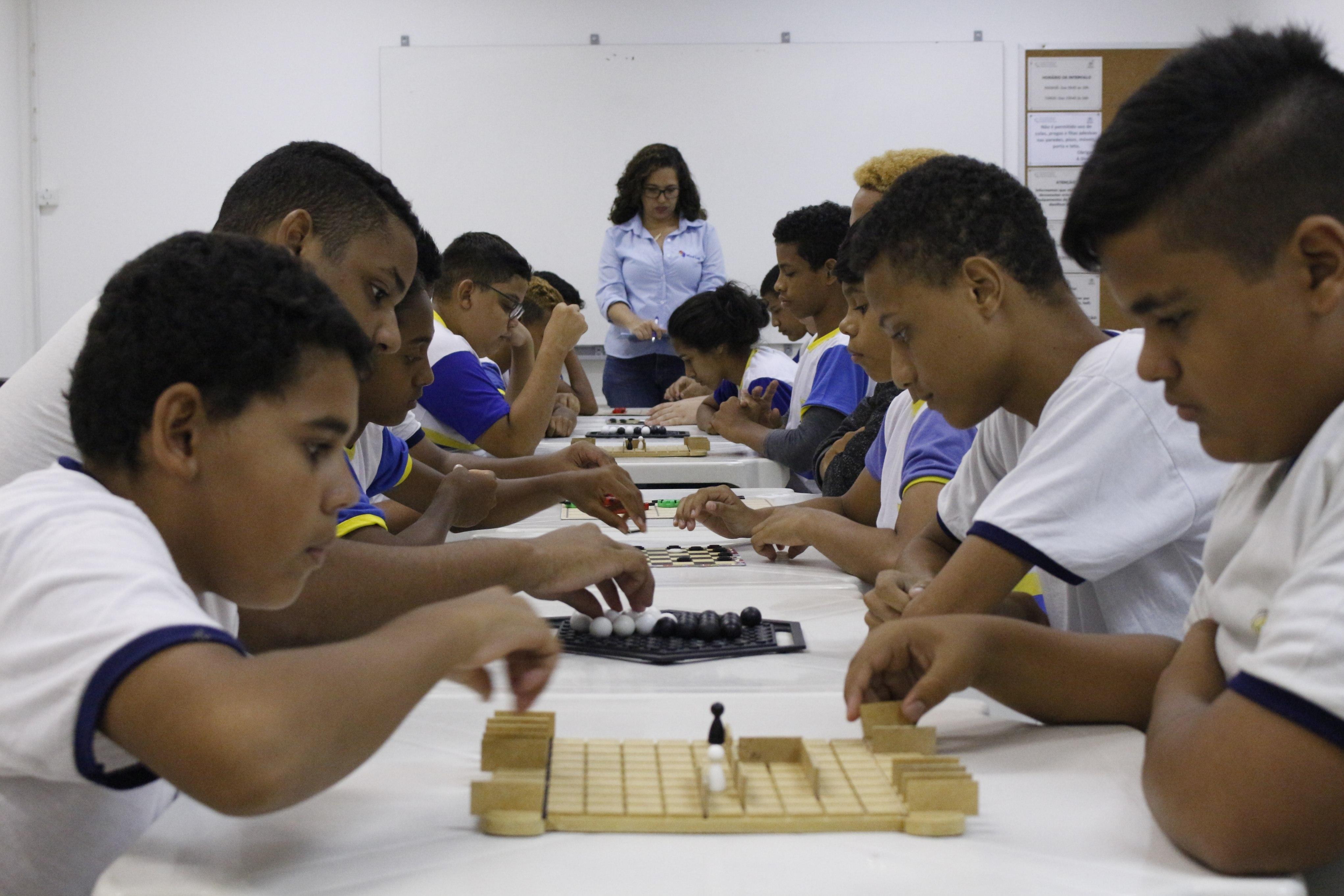 Competição foi realizada na Escola de Formação Paulo Freire - Crédito Lhonara Melo Cortesia (Lhonara Melo Cortesia)