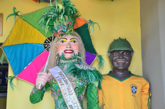 A Mulher da Sombrinha, agremiação mais famosa do município, irá desfilar. Foto: Divulgação