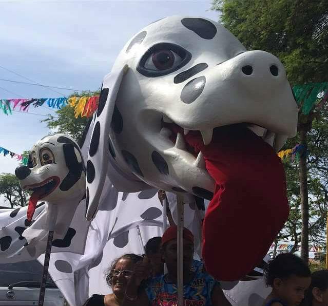 Bloco desfila pelas ruas de Jardim Atlântico. Foto: Divulgação