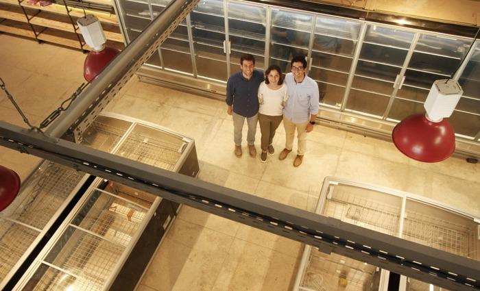Ricardo, Adriana e Eduardo são responsáveis pelo mercado e comandarão âncora do terreno. Foto: Peu Ricardo/DP ( Foto: Peu Ricardo/DP)