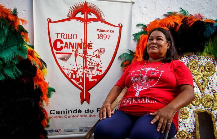 Comandar o Canindé do Recife se tornou missão para Iaci. Foto: Bruna Costa / Esp. DP