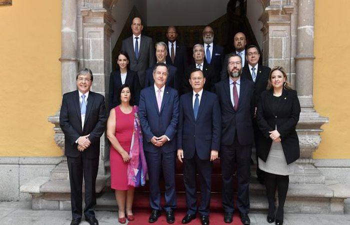 Chanceleres Grupo de Lima. Foto: CancilleriaPeru/Direitos Reservados