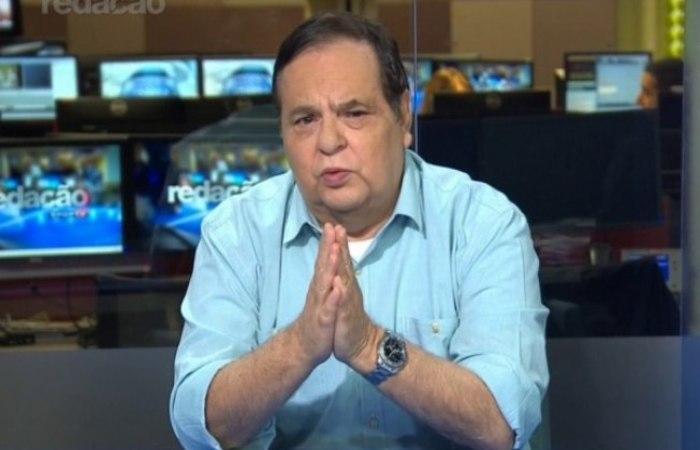 O jornalista foi vítima de uma parada cardiorrespiratória. Foto: Reprodução/Sport TV