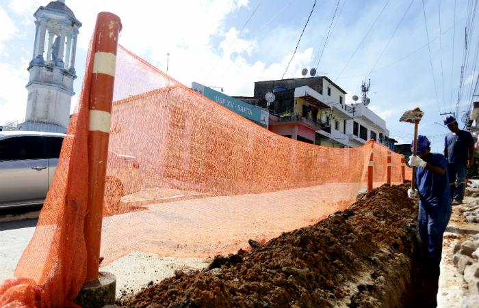 Serviços devem beneficiar cerca de 18 mil pessoas. Foto: Compesa/Divulgação.