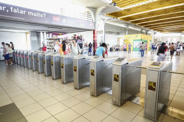 A saída do Expresso do Frevo será na Estação Shopping. Foto: Paulo Paiva/DP.