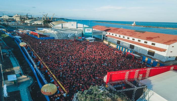 Edição comemorativa do Pega Vareta contou com mais de dez horas de shows. Foto: Agência Hangout