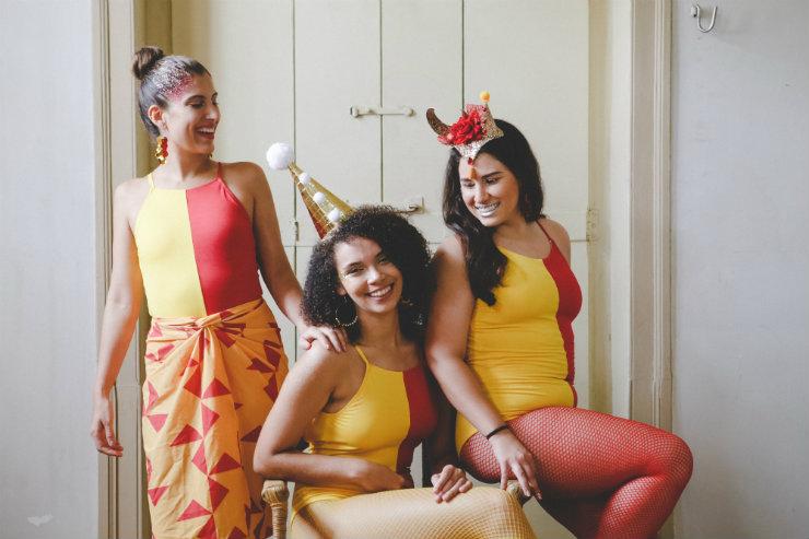 A marca pernambucana Viva Yemanjah é destaque na safra carnavalesca deste ano, com peças que também podem ser usadas depois da folia. Foto: Divulgação