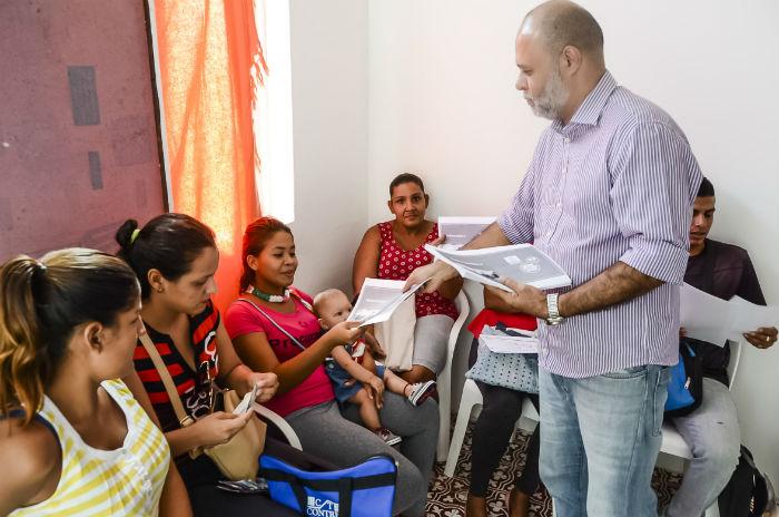 Os serviços de promoção e prevenção à saúde serão ofertados na Casa de Direitos dos Imigrantes, na Unicap. Foto: Antônio Tenório/PCR/Divulgação.