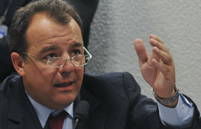 Ao longo do depoimento, que foi sigiloso, o ex-governador admitiu que recebeu propina de empreiteiras, como Queiroz Galvão e Odebrecht, e de empresários. Foto: Arquivo/Agência Brasil