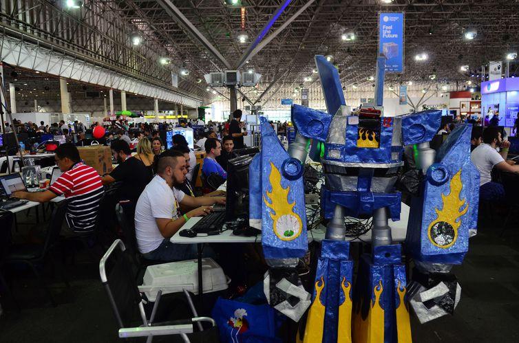 Campus Party, feira de tecnologia, inovação e empreendedorismo. Foto: Rovena Rosa/Arquivo Agência Brasil
