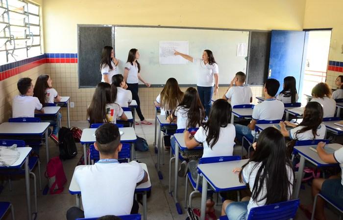 Secretaria de Educação de Pernambuco destacou que pedido do MEC fere autonomia da gestão escolar. Foto: Alyne Pinheiro/Divulgação.