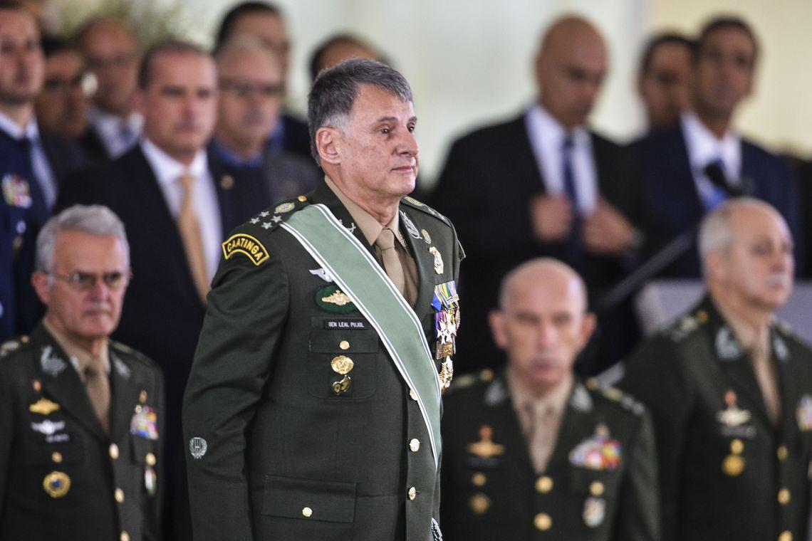 Comandante do Exército, general Edson Leal Pujol. Foto: Valter Campanato/ Agência Brasil