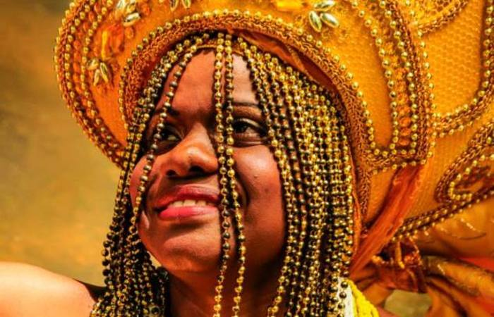 A artista anunciou a saída do Oxum Pandá após quase duas décadas de dedicação para participar do Afoxé Filhos de Dandalunda. Foto: Fernando Azevedo/Divulgação