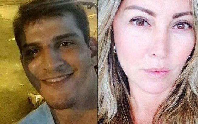 Empresária Elaine Caparroz foi vítima de agressão no Rio de Janeiro há duas semana; Vinicius, o agressor, está detido. Fotos: Reprodução/Redes sociais