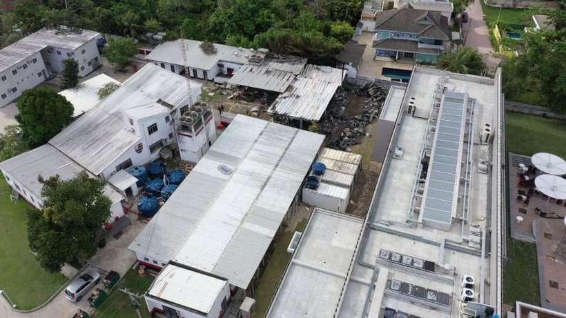 A interdição foi confirmada depois que fiscais da prefeitura. Foto: Marie Hospital/AFP