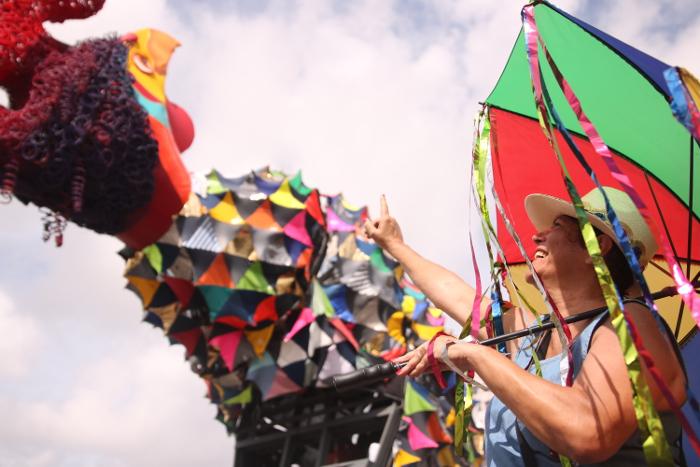 Escultura terá 28 metros e cinco toneladas. Crédito: Tarciso Augusto /Esp. DP Foto