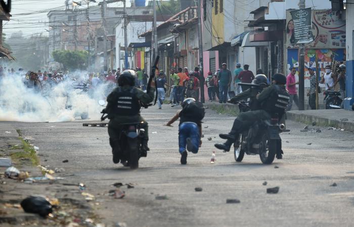Agressões a indígenas devem ser levadas à Corte Internacional. Foto: JUAN BARRETO / AFP