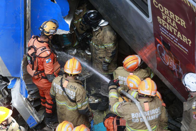 Acidente com trens no Rio de Janeiro matou um maquinista e feriu pelo menos oito pessoas. Foto: Arquivo/Tânia Rêgo/Agência Brasil