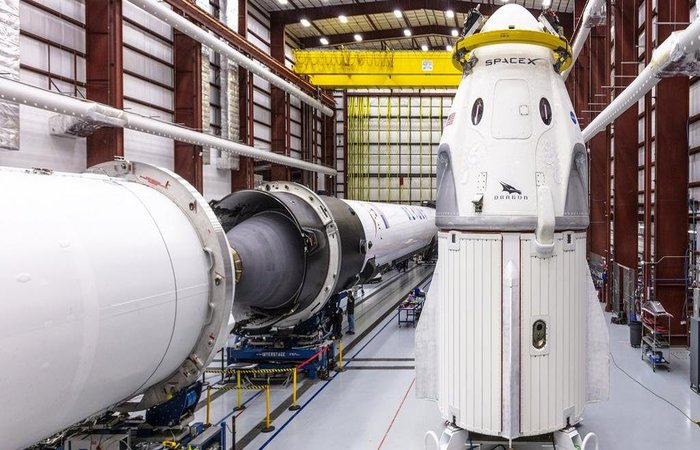Foto: Official SpaceX Photos / Divulgação / CP