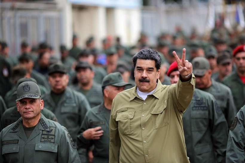 Entre os sancionados estão o comandante da Guarda Nacional Bolivariana e chefes de Defesa nos estados de Bolívar. Foto: Arquivo/AFP