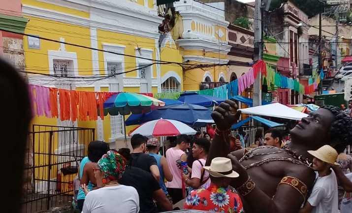 Preparativos para a saída do bloco. Foto: Divulgação