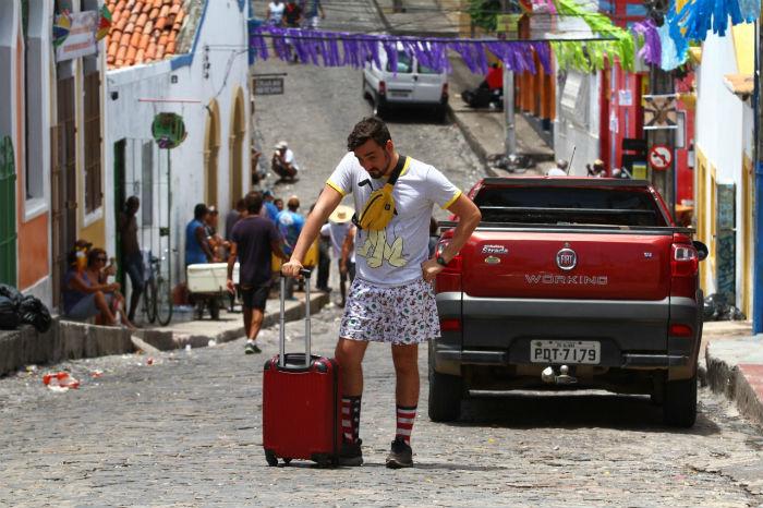 Matheus, do Rio Grande do Norte, trocou Salvador por Olinda. Foto: Peu Ricardo