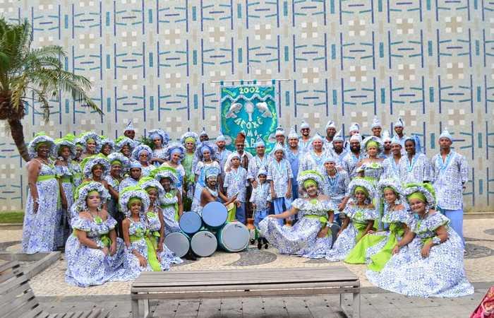 O Afoxé Omim Sabá também desfilará pelo Sítio Histórico. Foto: Erickson Flávio/Divulgação