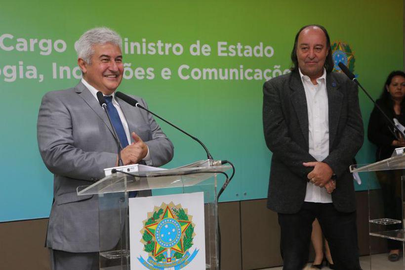 Cerimônia de transmissão do cargo de ministro da Ciência, Tecnologia, Inovações e Comunicações ao senhor Marcos Pontes. Foto: Bruno Peres/MCTIC