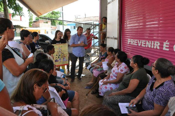 Campanha é realizada mensalmente. Foto: Divulgação / Prefeitura de Paulista