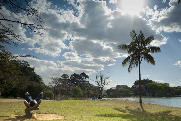 Parque do Ibirapuera é um dos espaços mais procurados e valorizados de São Paulo. Foto: Arquivo/Marcelo Camargo/Agência Brasil