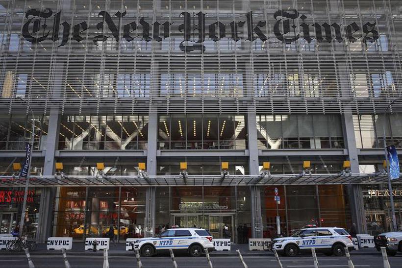 A jornalista foi contratada pelo New York Times no final de 2017, poucos dias antes da caso Harvey Weinstei. Foto: Drew Angerer/Getty Images/AFP